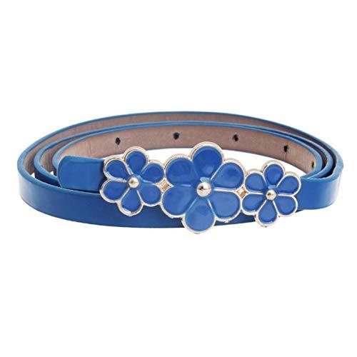 RelaxLife Gürtel für Damen Kleid Frauen-Leder-Blumen-Taillen-Gurt Bundleder-Frauengürtel Für Kleidergürtel-Frauengürtel Für Frauen