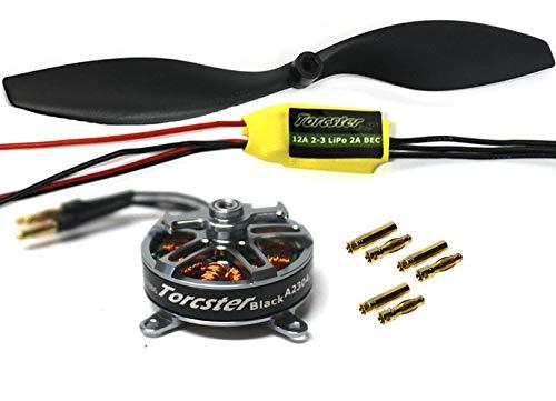 Torcster Antriebsset RC-Factory S 1 2s Shock Flyer Shocky Brushless Motor Regler RC LiPo