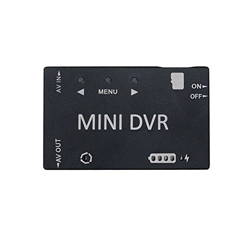 Mini FPV DVR, ARRIS 5.8Ghz FPV Goggles Micro HD Digital Video Audio Recorder for FPV Racing Drone Quadcopter