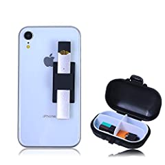 【Never Lose Your Juul】--The holder specially designed for JUUL, owning it will keep you from losing JUUL again!(JUUL device,pods&charger not included) 【Suitable for Any Phone】--Fits for any phone(IPhone8,X,11,XR,Samsung Galaxy S9,S10,Note10 or Tablet...