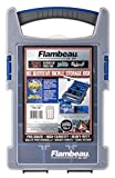 Flambeau Outdoors 'IKE' IQ Utility Box with Zerust Tray Cups, Fishing and Tackle Storage Utility Box - Varying Sizes