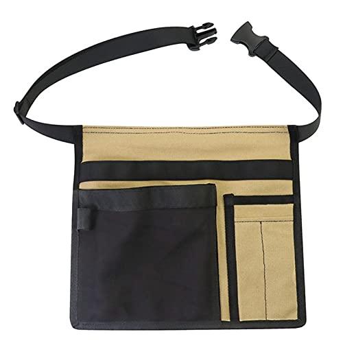 Brawdress Tool Belt Pouch Durable Adjustable Belt Work Apron Tool Organizer Bag for Workshop Storage Tools