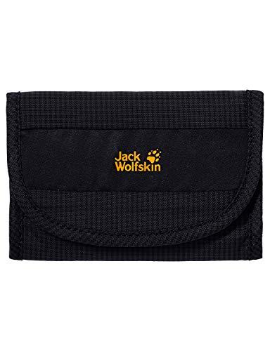 Jack Wolfskin Geldbeutel CASHBAG WALLET RFID, black, 14 x 10 x 2.5 cm, 0.08 Liter