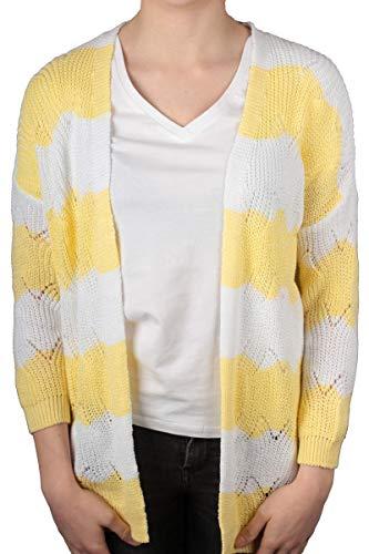 Hailys Cardigan Amilia in gelb Größe L/XL