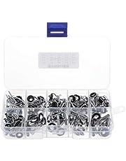 Sharplace 80 st rostfritt stål fiskespö vägledning Tips Eye Line Repair Kit