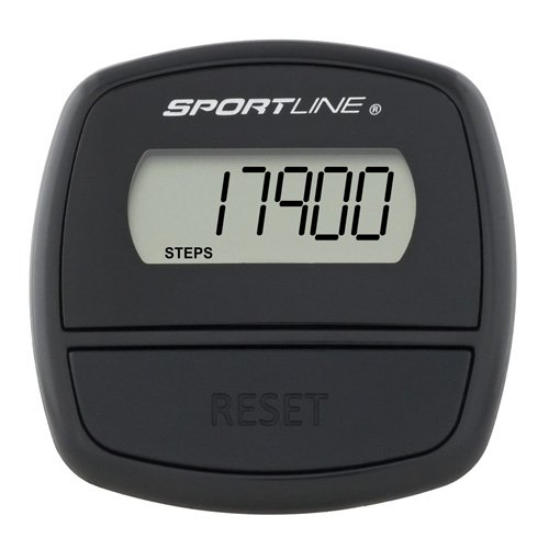 Sportline Step Pedometer, Just Clip It And Go To Track Steps With Single Button Operation, Made in the U.S.A.