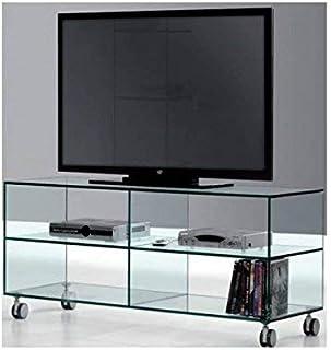 Amazon.es: mesa tv cristal