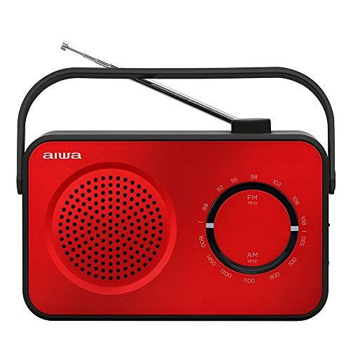 Aiwa Radio Sobremesa R-190RD Color Rojo