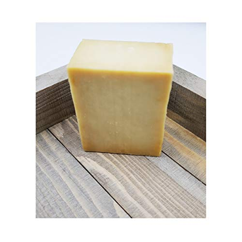 Olive Oil Bar Soap - 100% Natural Pure & Artisan Hand Crafted Quality (Single Bar)