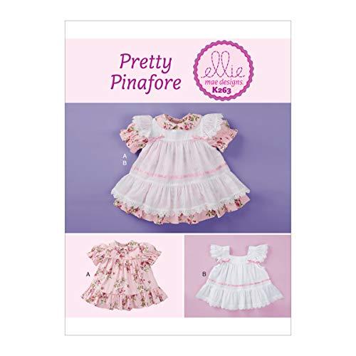 KWIK-SEW PATTERNS Kwik Baby Dress Sewing Patterns by Ellie Mae Designs, Sizes XXS-L