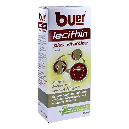 BUER LECITHIN Plus Vitamine flüssig 500 ml