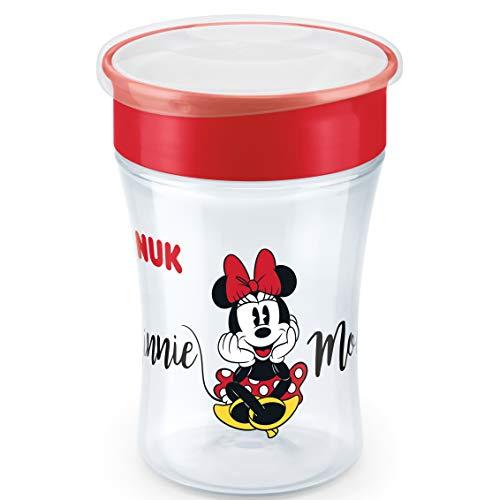 NUK Magic Cup 360 Grad Studententasse, auslaufsicherer Rand, BPA-frei, ab 8 Monaten, 230 ml, Bär