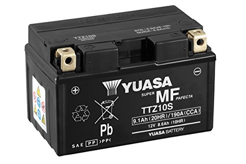 YUASA BATTERIE TTZ10S-BS AGM offen mit Saeurepack