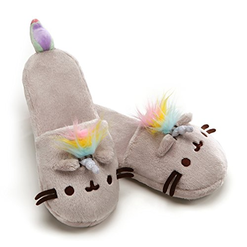 GUND Pusheen Pusheenicorn Slippers Soft Toy