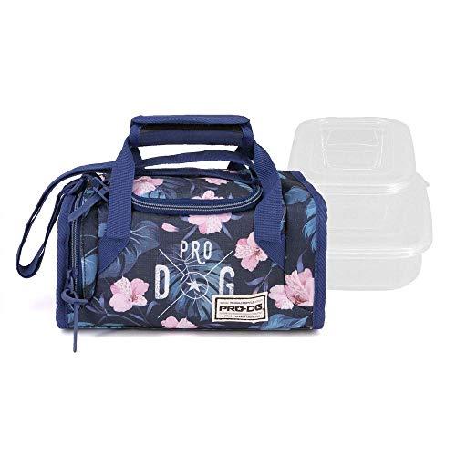 PRODG PRODG Tropic Blue-Mailbox Lunchpaket Cartella, 25 cm, Multicolore (Multicolour)