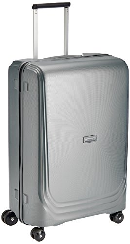 Samsonite Optic Spinner 75/28 Valigia, Polipropilene, Metallic Silver, 115 ml, 75 cm