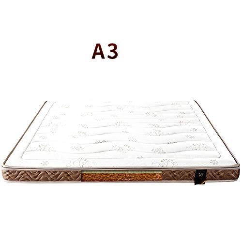 %34 OFF! HOMRanger Anti-Collapse Coir Mattress,Detachable Waterproof Bed Mattress Protect Spine Matt...