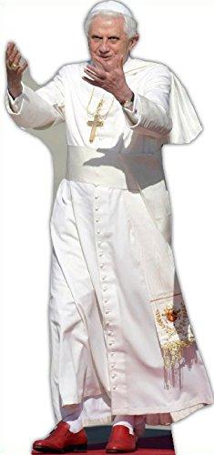 Star Cutouts Pappaufsteller vom Papst.