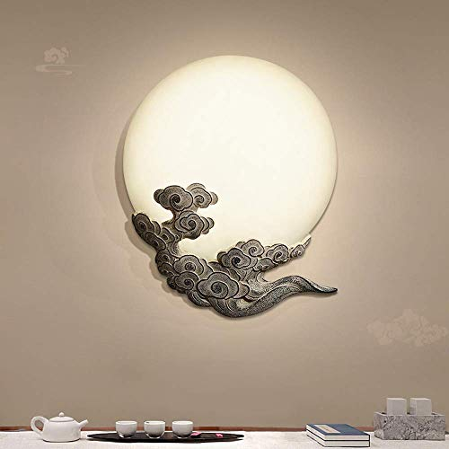 Iluminación de pared ligera para sala de estar. Creativo retro de la luz del pasillo de la escalera lámpara de pared de la lámpara de pared chinos antiguos del dormitorio de noche Escaleras Corredor l
