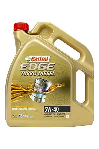 Castrol EDGE Turbo Diesel Aceite de Motores 5W-40 5L (Sello alemán)