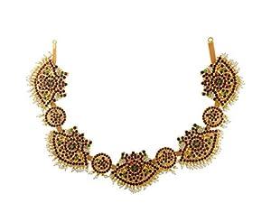 UG PRODUCTS Yellow Copper Bharatnatyam Jewellery Kemp Belt for Women