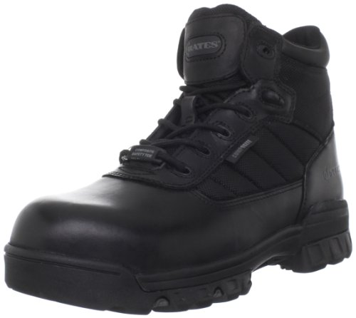 Bates Men's 5' Ultralite Tactical Sport Composite Toe, Black, 9.5 XW US