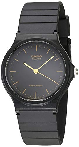 Casio Men's MQ24-1E Black Resin Watch