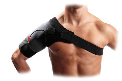 McDavid 463 Light Shoulder Support - Protector de hombro, talla M, color negro