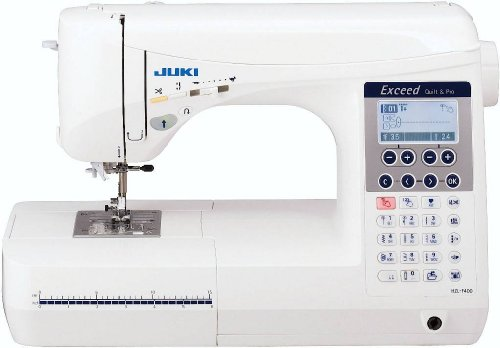 Juki HZL-F400 Computerized Sewing and Quilting Machine