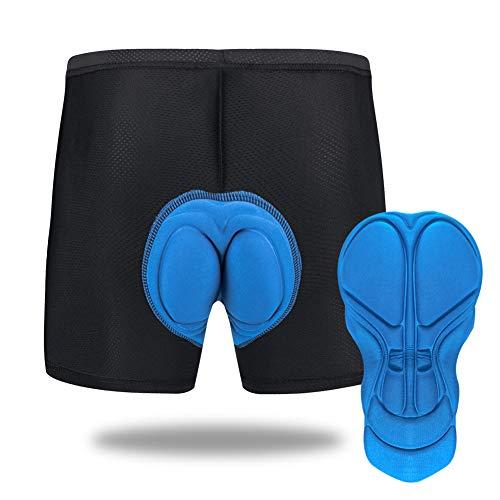 Sykooria Pantalones Cortos de Ciclismo para Hombre Pantalón Cortos de Bicicleta de Montaña Transpirables de Gel Antideslizantes 3D