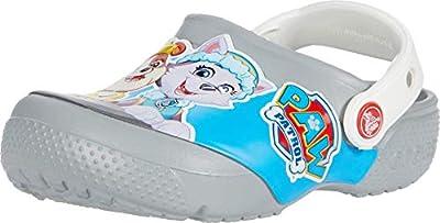 Crocs Fun Lab Paw Patrol Clog Kids, Zuecos Unisex Niños, Gris (Light Grey 007), 22/23 EU por Crocs