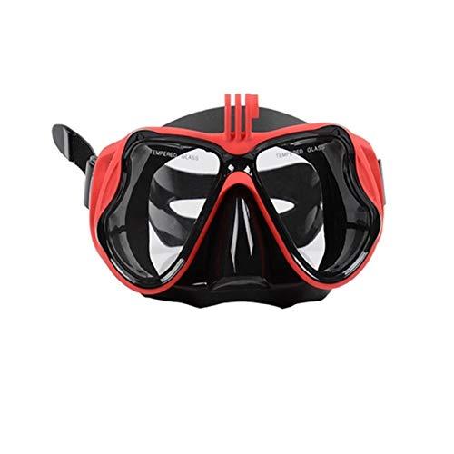 TYHDR Máscara de Buceo con esnórquel para Hombres y Mujeres, Gafas de Buceo Skuba antivaho, Gafas subacuáticas de visión Amplia, Deportes acuáticos, natación, envío Directo