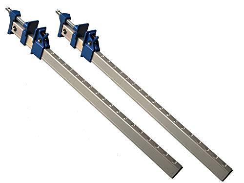 2pieza fugzwinge aluminio 600mm U–Perfil con mecanismo de extracción rápida