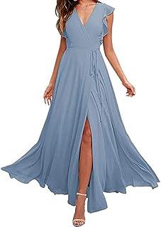 Suchergebnis Auf Amazon De Fur Kleid Hellblau Lang Kleider Damen Bekleidung