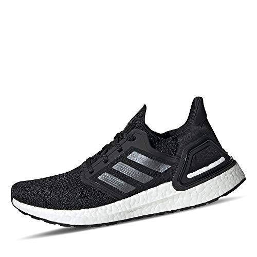 adidas Women's Ultraboost 20 W Running Shoe, Core Black/Night Met./FTWR White, 3.5 UK