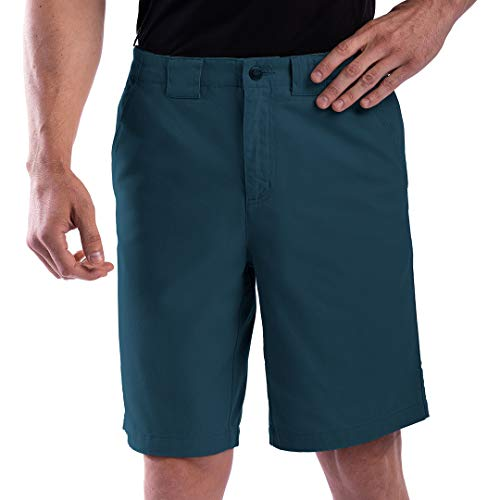 SCOTTeVEST Men's Hidden Cargo Shorts | 8 Concealed Pockets | Anti-Pickpocket Blue