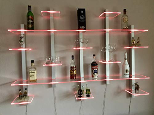 Design Bar Regal beleuchtet mit LED Technik
