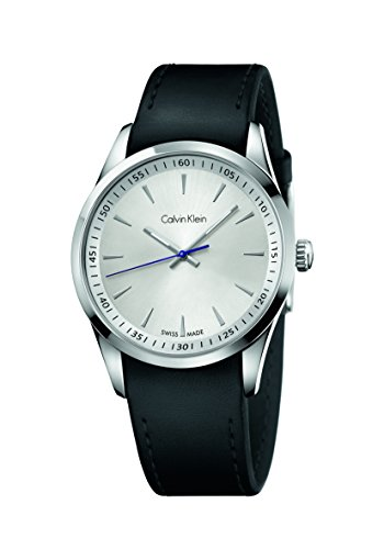 Calvin Klein Reloj Analógico para Hombre de Cuarzo con Correa en Cuero K5A311C6