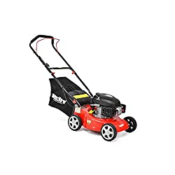 Pike 40 Gasoline Lawn Mower Push Lawn Mower, Rotary blades,)