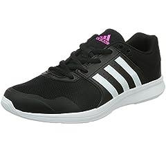 adidas Essential Fun 2, Zapatillas de Gimnasia para Mujer, Multicolor (Core Black/FTWR White/Shock Pink), 38 EU: Amazon.es: Zapatos y complementos