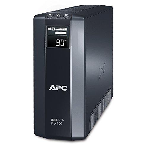 APC Power-Saving Back-UPS PRO - BR900GI - Gruppo di Continuità (UPS) 900VA (AVR, 8 Uscite IEC-C13, USB, Shutdown Software, Risparmio Energetico)