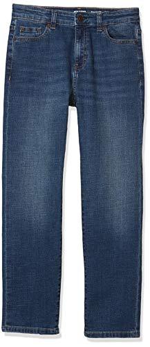 Amazon Essentials Boys Stretch Straight fit Jeans Everest Medium Wash 14 Slim
