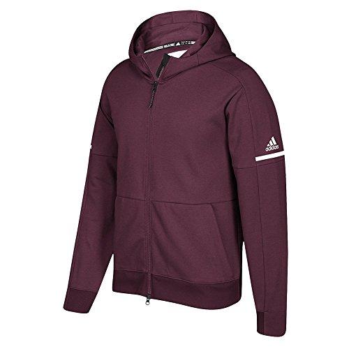 adidas Men's MAROO GB Squad ID Jacket Size S Maroon-White