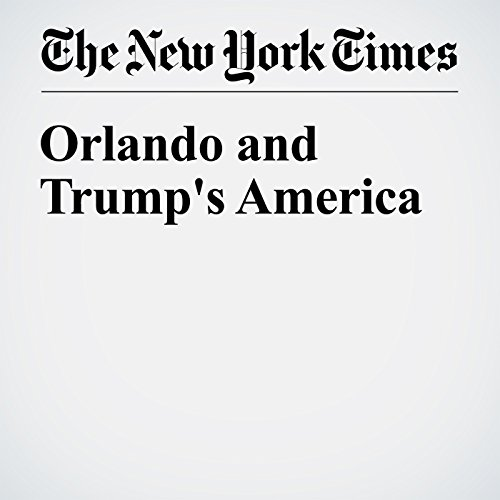Orlando and Trump's America audiobook cover art