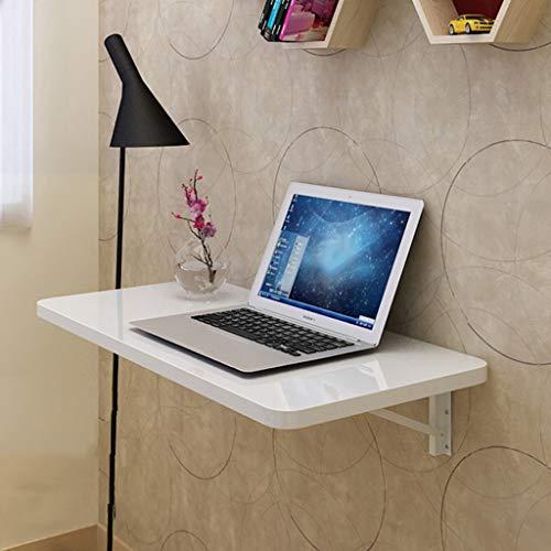 Koovin Wandtisch Klapptisch, Glänzender Schreibtisch Aus Holz, Multifunktionaler Computertisch, Küchenarbeitsplatte Mit Maximaler Belastung