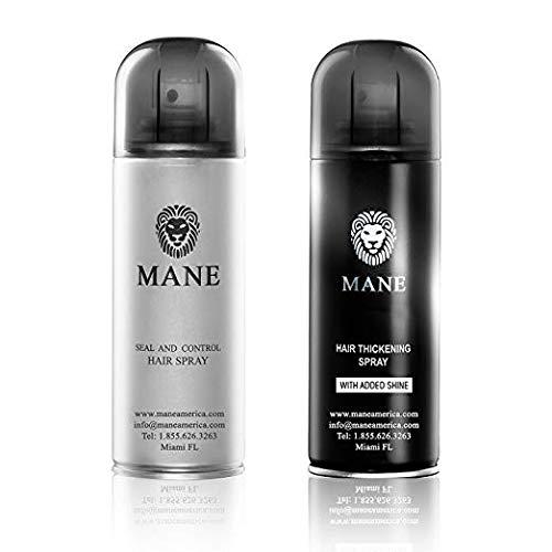 Mane USA Hair Thickener Spray Combo (200ml) (Grey)