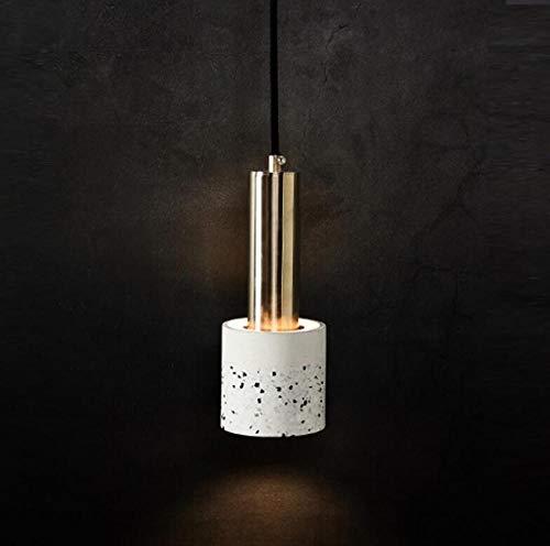 Moderne hanglamp van beton, restaurant, nachtkastje, hal, slaapkamer, kroonluchter