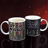 Cafe Criativas Tazze Che Cambiano Colore Star Wars Tazze d'Acqua Spada Laser Rivelazione di Calore Console di Gioco Tazza in Ceramica Bicchieri Regali-Star_Wars
