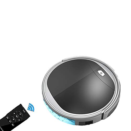 Amazing Deal JINRU Robot Vacuum Cleaner, Designed for Hard Floor and Thin Carpet,Remote Control (Sli...