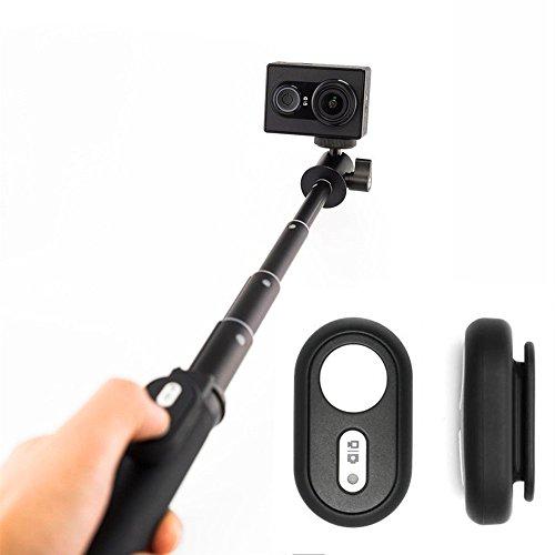 Xiao Yi Acción Cámara Bluetooth Control Remoto Selfie Stick Autofoto Palillo Negro